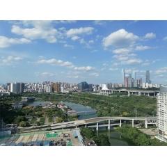 广西最新万博体育app官网下载金属化工有限公司南宁营销公司办公大厦窗外景色